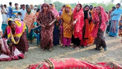 The body of a farmer was recovered at Kumarkhali in Kushtia